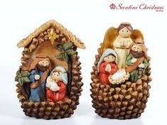 Nacimiento / Nativity Set Kids Christmas Ornaments, Nativity Ornaments, Christmas Favors, Nativity Crafts, Christmas Nativity, Christmas Wrapping, Christmas Holidays, Christmas Crafts, Christmas Decorations