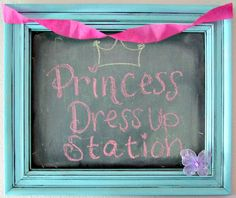 Lots of fun ideas for a princess party from A Girl and a Glue Gun.