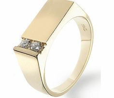 Ampalian Jewellery 18 Carat Gold Gents Diamond Ring (D20) A bold 18 carat gold ring set with two sparkling- brilliant cut H/Si diamonds http://www.comparestoreprices.co.uk/mens-jewellery/ampalian-jewellery-18-carat-gold-gents-diamond-ring-d20-.asp