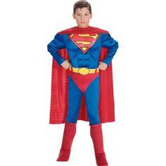 Disfraz de Superman musculoso niño 39.99. 24/48 horas.