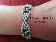 Create your own elegant bracelet, fun and easy to make. Skill Level: Beginners – advanced This tutorial needs to have some experience, know how to tie the knots and weave in your thread ends. I suggest this pattern for beginners to advanced bead weavers. The pattern instruction includes very detailed step by step easy to follow. You will need: 4 lb. FireLine Miyuki Delica seed beads size 11/0 Swarovski size 4mm Superduo 5x2.5mm Size 12 beading needles 1 clasp Download Immediately Onc...