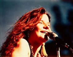 1968 Janis Joplin at the San Jose Pop Festival