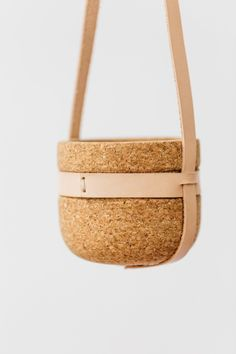 Melanie Abrantes cork hanging planter pot