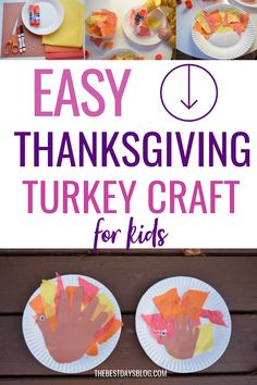 This Thanksgiving turkey craft is really easy to make. A fun activity to do with your toddler this year. #thanksgivingcraft Thanksgiving Crafts For Toddlers, Thanksgiving Turkey, Crafts For Kids, Tissue Paper Trees, Paper Feathers, Turkey Craft, Fun Activities To Do, Toddler Crafts, Halloween Crafts