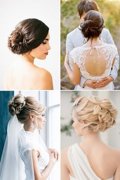 chic updo bridal updo hairstyles / http://www.himisspuff.com/bridal-wedding-hairstyles-for-long-hair/21/