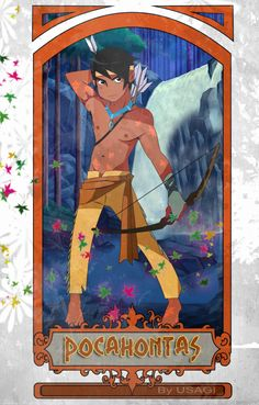 Disney Gender Bender: Pocahontas Nature Guardian