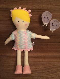 Presente boneca de pano bantidolls