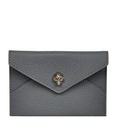 Alexander McQueen Skull Envelope Card Holder available at harrods.com. Shop designer accessories online & earn reward points.