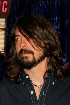 Dave Grohl, excellent facial to head hair ratio.  I must have balance.
