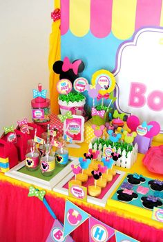 Minnie Mouse Birthday Party Ideas | Photo 1 of 74