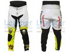 Valentino Rossi Motociclismo Repsol Honda MotoGP 2003 Pants  https://www.leathercollection.com/en-we/valentino-rossi-motociclismo-repsol-honda-motogp-2003-pants.html  #Honda_Pants, #Valentino_Rossi_Motociclismo_Repsol_Honda_MotoGP_2003_Pants, #Valentino_Rossi_Pants
