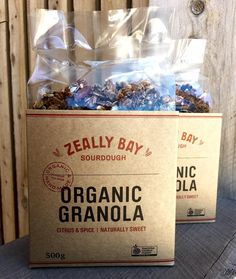 Are you the crunchy Granola type? #vegan #organic #pure /////////// #sourdough #bakery #handmade #certifiedorganic #organic #realbread #beachbread #wholegrain #goodbreadfromthegroundup #fermented #healthy #wholefood #stoneground #slowfood #vegan #granola #muesli ////////// #torquay #surfcoast #greatoceanroad #3228 #geelong #bellarinepeninsula by zeallybaybread