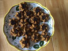 Homemade pumpkin & liver dog treats