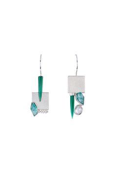 LOFT.bijoux | Janis Kerman. Earrings. Contemporary art jewellery