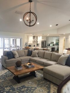Enola Sectional with Chaise New Living Room, Living Room Sets, Home And Living, Living Room Designs, Living Room Decor, Ashley Living Room Furniture, Family Room Furniture, Sectional Sofa Layout, Family Room Sectional