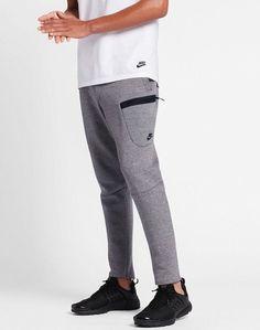 Nike Sportswear Tech Fleece Men's Pants Carbon Heather/Black 805218-091 2XL XXL #Nike #Pants