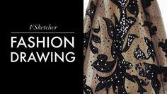 ELIE SAAB DRESS | Fashion Drawing