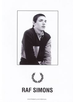 Raf Simons for Fred Perry Fall Winter 2010 Ad Campaign Preview