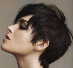 what is the best pixie cut for a full round face? - Google Search