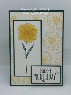 Touches of Texture birthday card #stampinup #touchesoftexture