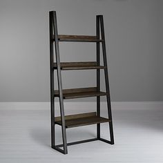 Buy John Lewis Calia Bookshelf, Dark Wood Online at johnlewis.com