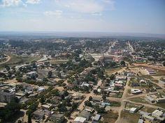 Huambo aerial view - Angola