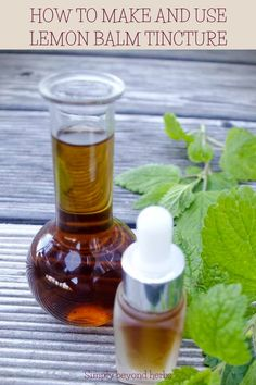 Lemon balm tincture is an effective herbal formulation with a calming effect on emotional stress that enhances your mood. This potent and safe herbal extract may also help you with insomnia and indigestion. Natural Essential Oils, Natural Oils, Natural Skin Care, Emotional Stress, Herbal Extracts, Lemon Balm, Herbal Medicine, Natural Remedies, Herbalism
