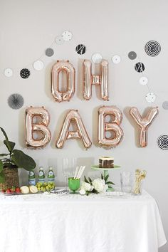 Modern Woodland themed Baby Shower Spaß-moderne Waldthemenorientierte Babyparty, Partei, Ereignis, Dekor & The post Moderne Waldthemenorientierte Babyparty & Babyparty & Geschenke zur Geburt appeared first on Gender reveal ideas . Babyshower Party, Baby Party, Baby Shower Parties, Baby Shower Themes, Shower Ideas, Idee Baby Shower, Shower Bebe, Baby Boy Shower, Baby Ballon