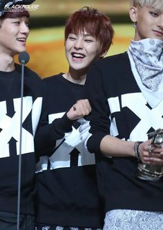 smiley xiumin :] #exo