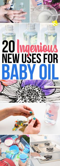 20 Ingenious New Uses for Baby Oil You've Never Heard Of