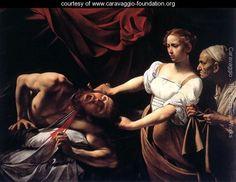 Caravaggio. Giuditta e Oloferne (1598)