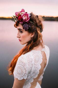 30 Unboring Floral Crowns for Stylish Brides   Junebug Weddings