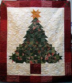 Christmas tree patchwork