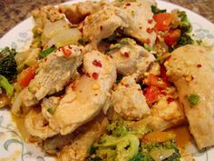 Paleo Musings: Hot Sesame Dragon Chicken. This rocked my world!