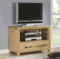 solid oak tv unit tv units