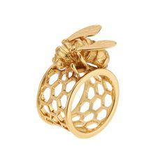Bee Ring - The Met Store - Bee Ring - Rings - Jewelry - The Met Store