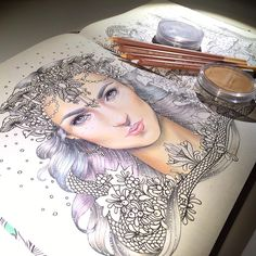"""495 Likes, 29 Comments - @emmijulin on Instagram: """"Testing pastelpencils and Panpastels for coloring ☺️ #art #artwork #pastelpencils #coloring…"""""""