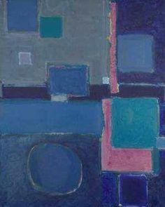 View Blue painting Squares and disc August 1958 - February 1959 by Patrick Heron on artnet. Browse upcoming and past auction lots by Patrick Heron. Oil Painting Gallery, Yellow Painting, Patrick Heron, Ghost In The Machine, Colour Field, American Artists, British Artists, Yorkie, Oil On Canvas