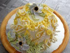 Украшение тортов - торт от сердца к сердцу, cake decoration - YouTube