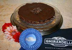 My Oh My Chocolate Peanut Butter Tart. Winning Ghirardelli Chocolate Championship Recipe.