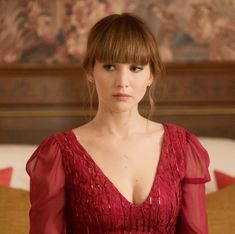 """Jennifer Lawrence in """"Red Sparrow"""" 2018"""