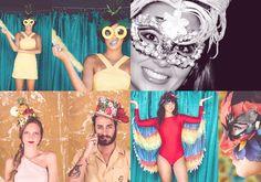 Coleção FARM 2015, Can Can Acessórios e minha máscara feita por mim. Carnaval 2015