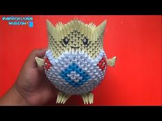 Origami 3D Togepi (Pokemon) - YouTube