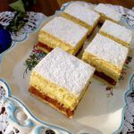 This vegan lemon cake is light and fluffy with a zing! Also works well by replac… This vegan lemon cake is light and fluffy with a zing! Also works well by replacing the flour and baking powder for gluten free substitutes Vegan Treats, Vegan Foods, Vegan Dishes, Vegan Desserts, Dessert Recipes, Vegan Baking Recipes, Eggless Recipes, Dairy Free Baking, Eggless Baking
