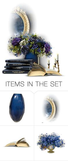 """""""Books and Flowers contest"""" by giudittina ❤ liked on Polyvore featuring art"""