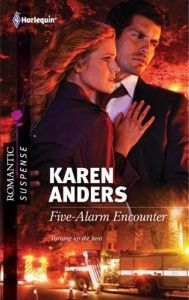 I've moved away from the steamy stories to tackle romantic suspense.  My first love.  Another firefighter who's being stalked by the arsonist that almost killed her.