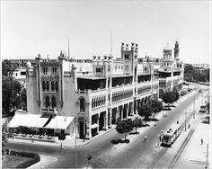 Heliopolis 1940s Old Egypt, Cairo Egypt, Out Of Africa, Old Ads, Historical Pictures, Vintage Pictures, Vintage Photography, Cool Photos, Interesting Photos