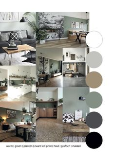 Moodboard for a cool and warm design with natural elements. The graph… - home accessories - Moodboard for a cool and warm design with natural elements. The graph Moodboard for a cool and warm - Room Colors, Home And Living, Interior Design, House Interior, Home, Interior, Home Deco, Living Room Color, Home Decor