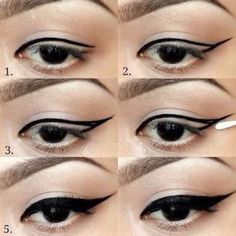 Eyeliner tutorial step by step #Fashion #Musely #Tip