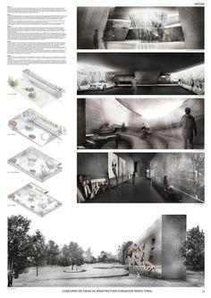 Mención Honrosa Concurso de Ideas Museo Mario Toral,Lámina 03